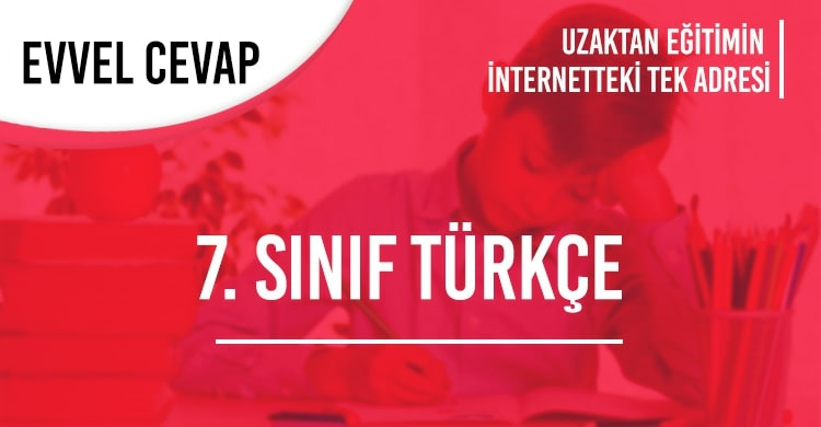 7. Sınıf Türkçe Test Çöz